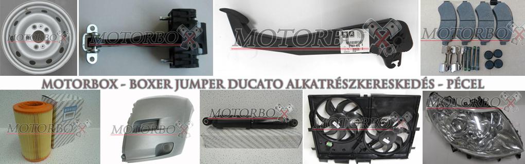 Gyári és utángyártott új alkatrészek Citroen Jumper, Peugeot Boxer és Fiat Ducato kisteherautókhoz.